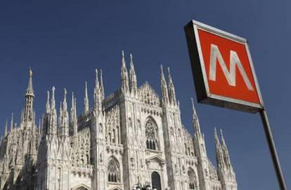 Fermata metro a Milano (Stuart Franklin/Getty Images)