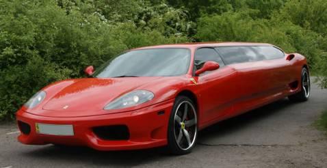 ferrari 8 478x246 Ferrari: con la versione limo il matrimonio diventa unesperienza unica (video You Tube)