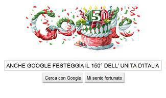 Unità d'Italia: anche Google festeggia il 150° anniversario dell'Unità d'Italia