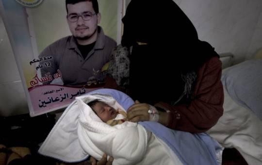 """Gaza: primo caso di fecondazione assistita con liquido seminale fatto """"evadere"""" da prigione"""