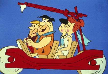 Flintstones hanna e barbera gli antenati compiono anni vedi
