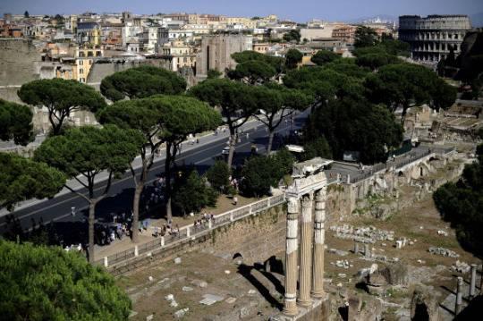 Roma: allagata galleria su tangenziale est