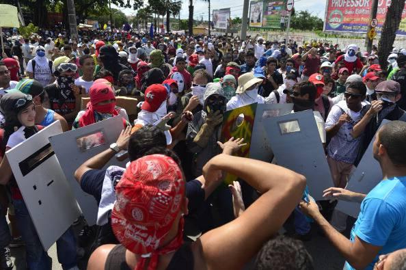 Fortaleza: proteste e scontri prima del match tra Italia e Spagna