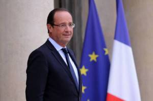Il Presidente francese Francois Hollande (Getty Images)