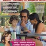 George Leonard e Carmela Gualtieri in vacanza con Dan