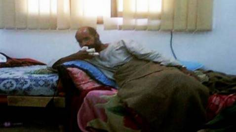 Saif al-Islam Gheddafi dopo la cattura