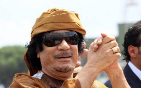 Muammar Gheddafi (Getty Images)