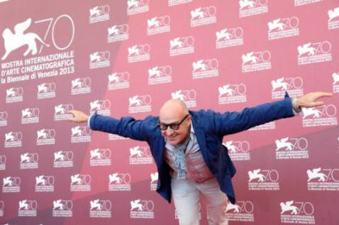 Gianfranco Rosi alla 70^ Mostra del Cinema di Venezia (Pascal Le Segretain/Getty Images)