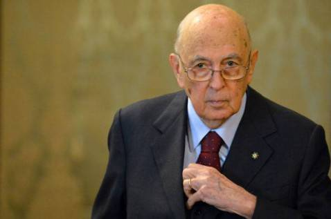 Giorgio Napolitano (Filippo Monteforte/Afp/Getty Images)