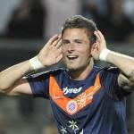 Rivoluzione Inter, si pensa anche a Giroud del Montpellier