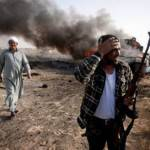 Guerra in Libia: ribelli cacciano truppe di Gheddafi da Brega e Ajdabiya, abbattuti 7 velivoli del regime