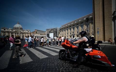 Motoraduno (FILIPPO MONTEFORTE/AFP/Getty Images)