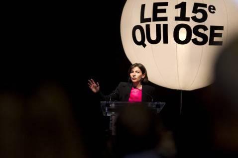 Anne Hidalgo (JOEL SAGET/AFP/Getty Images)