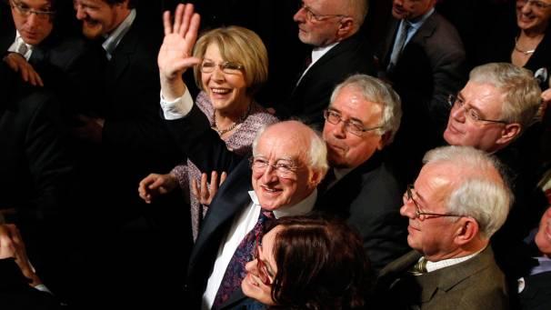 Michael D. Higgins è da oggi il nuovo presidente della Repubblica d'Irlanda