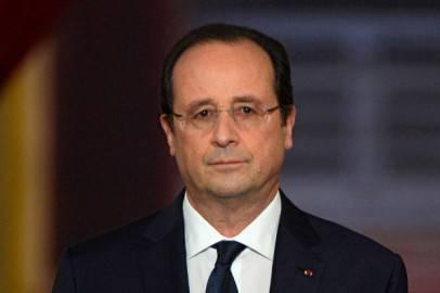 Francois Hollande in conferenza stampa (ALAIN JOCARD/AFP/Getty Images)