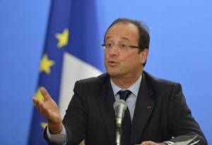 Il Presidente francese François Hollande (Getty Images)