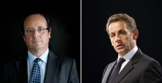 hollande sarkozy Francia: il discorso a reti unificate non salva Sarkozy, Hollande in vantaggio