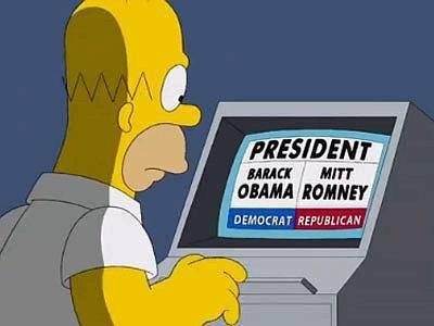 """Homer vota Romney e non Obama: """"Ho sentito che indossa mutande magiche"""" (Guarda il Video)"""