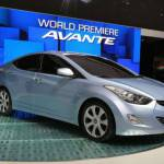 Hyundai Elantra, novità coreana al Salone di Los Angeles 2010