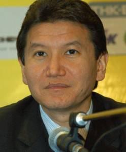 Kirsan Ilyumzhinov, presidente della Kalmykia