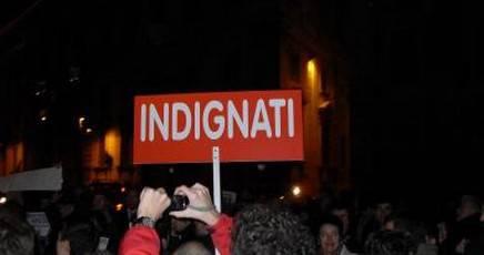 Giornata all'insegna dell'indignazione in tutto il mondo. A Roma tra breve inizierà il corteo