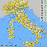 Previsioni meteo fine settimana, sabato 5 e 6 maggio 2010