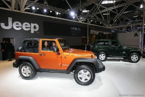 Motor Show di Bologna 2010: la nuova generazione di Jeep Wrangler