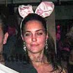 "Notte da ""coniglietta"" per la futura Regina D'Inghilterra Kate Middleton"