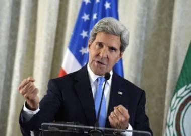 Il Segretario di Stato Usa John Kerry (SUSAN WALSH/AFP/Getty Images)
