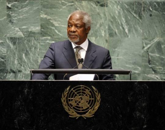 Siria: Kofi Anna si dimette da inviato speciale
