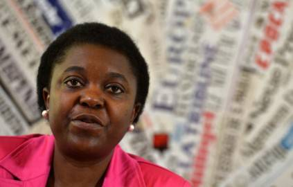 Cecile Kyenge (ALBERTO PIZZOLI/AFP/Getty Images)