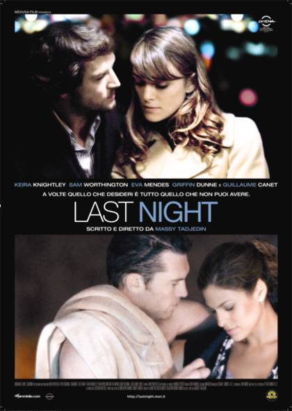 "Oggi al cinema: ""Last Night"""