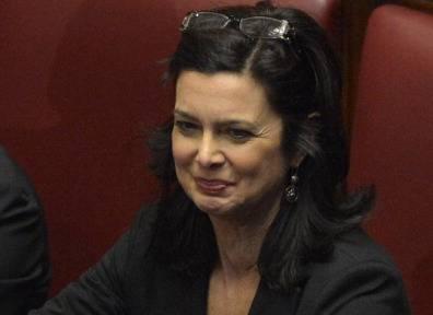 Laura Boldrini è stata eletta Presidente della Camera