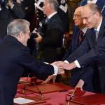 """Incontro tra Enrico Letta, Saccomanni e Visco: """"Segnali di ripresa per l'economia"""""""