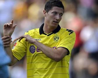 lewandowski robert 5x4 Diashow 337x270 Champions League diretta live: Borussia Dortmund   Olympique Marsiglia in tempo reale