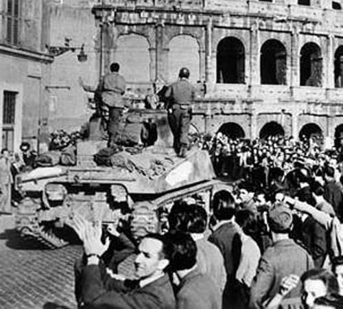 4 giugno 1944: durante la Seconda Guerra Mondiale gli Alleati liberano Roma