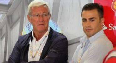 lippi cannavaro ferrari F1 Ferrari, Gp Abu Dhabi 2011: Lippi e Cannavaro ospiti nei box della Rossa