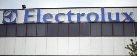 Il logo dell'Electrolux (MARTIN BUREAU/AFP/Getty Images)