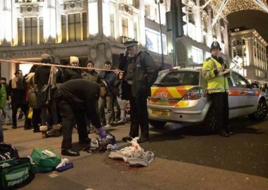 Sangue nel cuore di Londra: guerra tra gang nella City, un morto e 11 arresti nel 'Boxing Day'