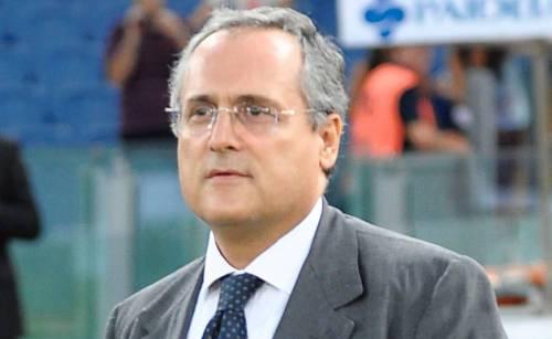 """Lotta scudetto, Lotito: """"La Lazio? Stiamo con i piedi per terra"""""""