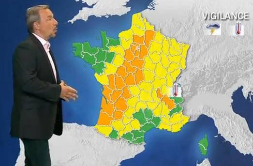 Maltempo in Francia, è allerta in 28 dipartimenti