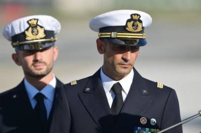Massimiliano Latorre e Salvatore Girone (Getty images)