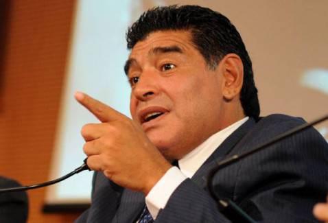 maradona9 478x325 Maradona da Fazio: Non sono un evasore. Il Napoli? De Laurentiis non mi vuole (VIDEO)
