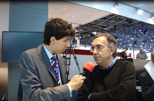 SALONE DI PARIGI 2010 / Fiat, intervista a Sergio Marchionne (video)