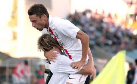 Sampdoria-Juventus: out Del Piero e Krasic. Spazio a Pepe e Martinez
