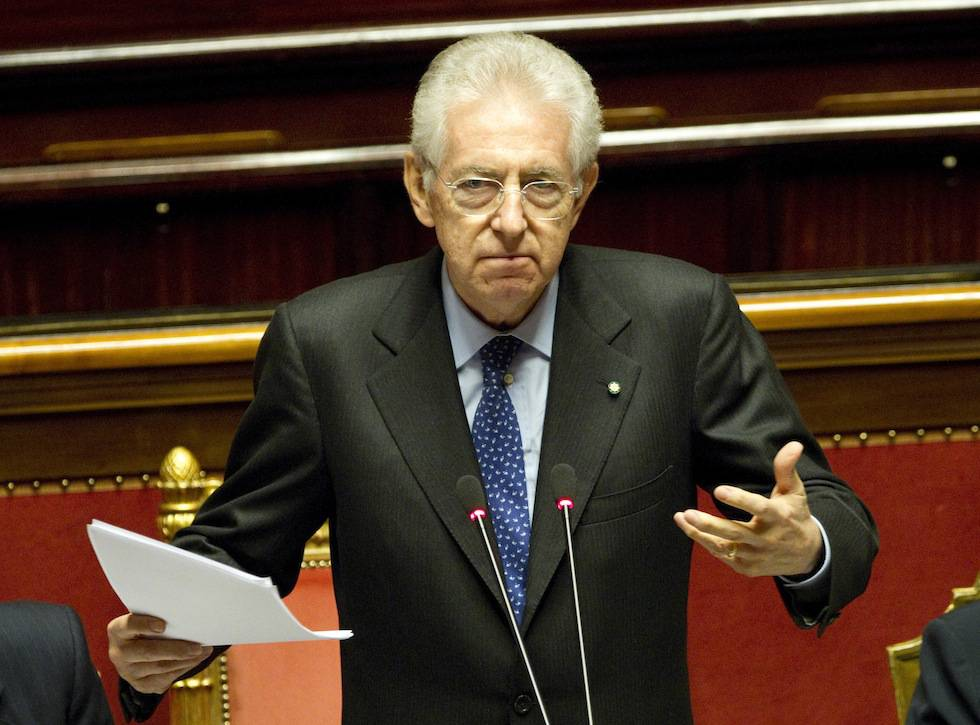 Governo monti semaforo verde da senato e camera da for Senato e camera