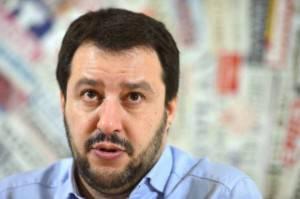 Matteo Salvini, segretario federale della Lega Nord (GABRIEL BOUYS/AFP/Getty Images)