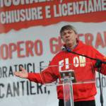 "Appello di Landini a Matteo Renzi: ""L'art.18 è un diritto di civiltà"""