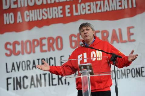 Maurizio Landini (ANDREAS SOLARO/AFP/Getty  Images)