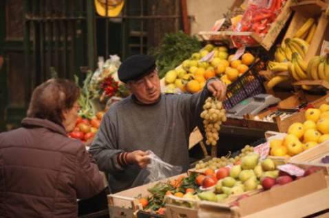Spesa al mercato (Foto: Christopher Furlong/Getty Images)